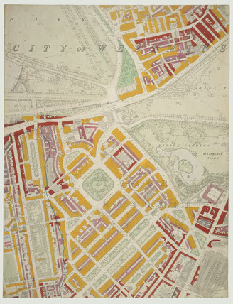 Descriptive map of London Poverty: Section 33: 1889
