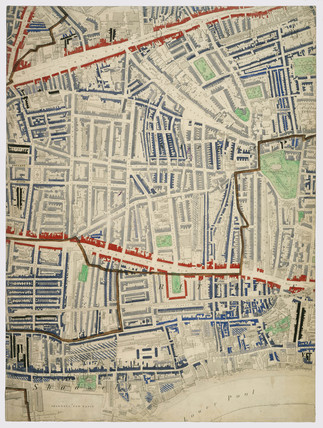 Descriptive map of London Poverty: Section 29: 1889