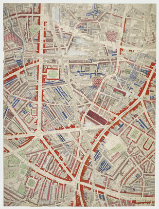Descriptive map of London Poverty: Section 36: 1889