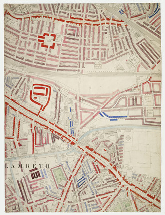 Descriptive map of London Poverty: Section 48: 1889.