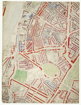 Descriptive map of London Poverty: Section 45: 1889.