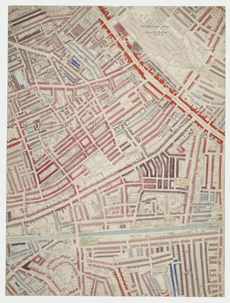 Descriptive map of London Poverty: Section 47: 1889