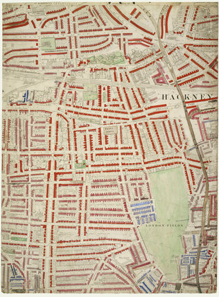 Descriptive map of London Poverty: Section 8: 1889