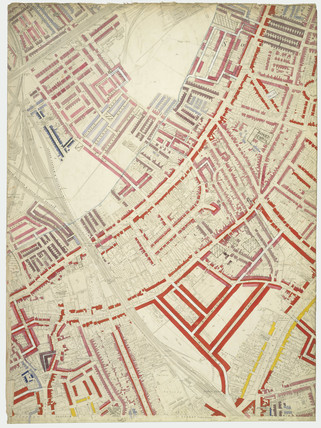 Descriptive map of London Poverty: Section 54: 1889