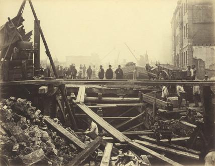 New Thames Coal Wharf, City: 1866-1890