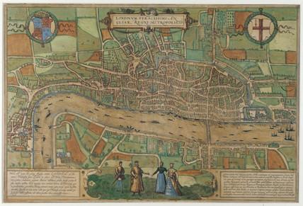 Londinum Feracissimi Angliae Regni Metropolis: 1574