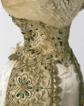 Evening Dress: 19th century