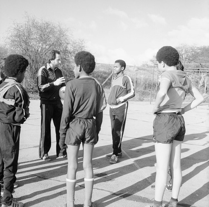 Five-a-side football coaching: 1980
