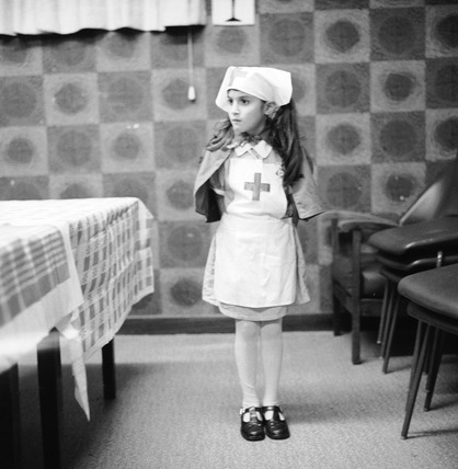 Girl in nurse's costume: 1979-1982