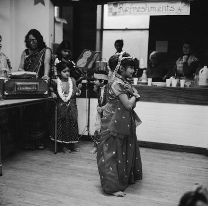 Bengali child dancing. 1979-1982