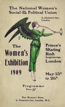 Programme for 'The Women's Exhibition': 1909