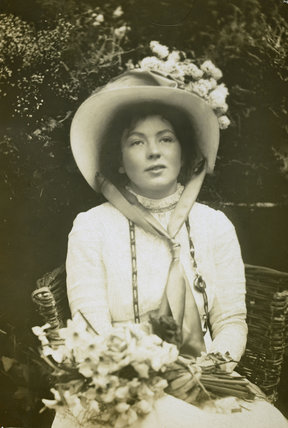 Portrait of Christabel Pankhurst: 1905-1914