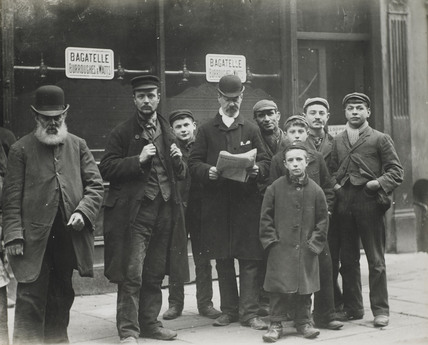 East End men and boys: c.1900