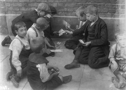 The Gamblers: c.1900