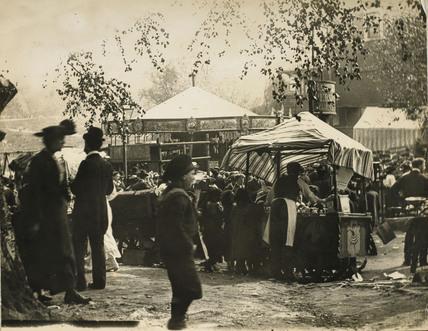 Fairground scene: c.1900