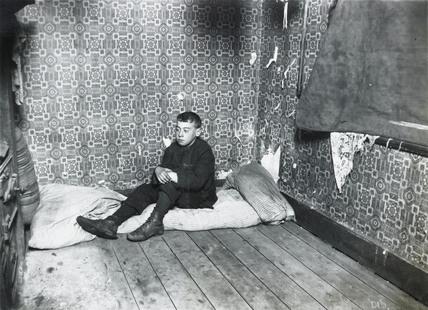 A boy's bedroom: c.1900