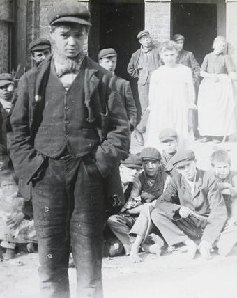 A young hooligan: c.1900