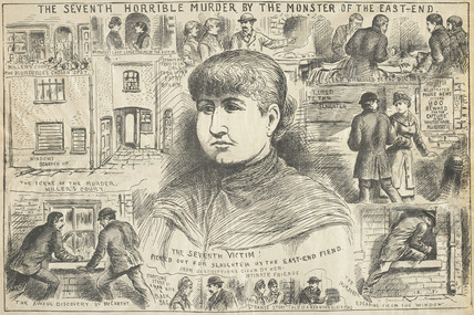 The seventh Horrible Murder by the Monster of the East End: 1886 - 1888