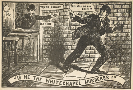 Is he the Whitechapel Murderer?: 1888
