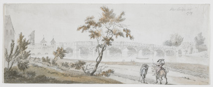 A watercolour of Kew Bridge: 1759