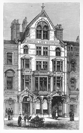 Working Lads Institute, Whitechapel: c.1900