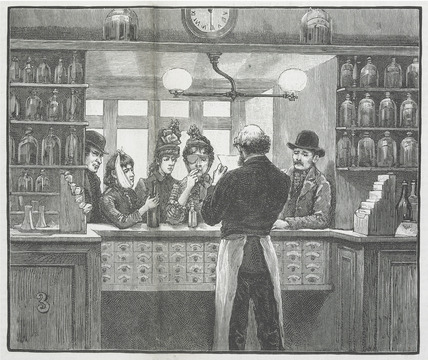The Dispensery:  c.1900