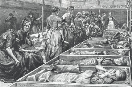 A Salvation Army shelter for women: 1892