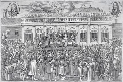 Execution Charles I: 1649