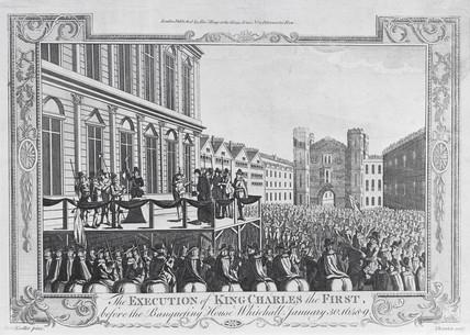 Execution of Charles I: 1649
