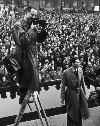 Second Front meeting, Trafalgar Square,1942
