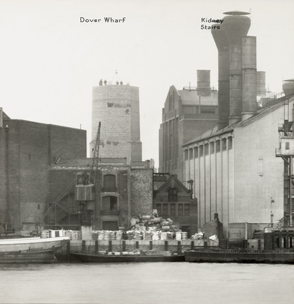 Thames Riverscape showing Dover  Wharf and Kidney Stairs: 1937