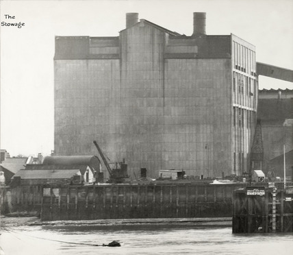 Thames Riverscape showing The Stowage; 1937