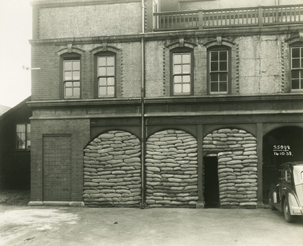 Superintendent's Office, Royal Albert Dock: 1938