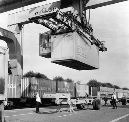 Tilbury Freight Liner Terminal: 1970