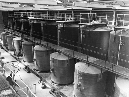 Bulk Wine Installation, India and Millwall Docks: c.1970