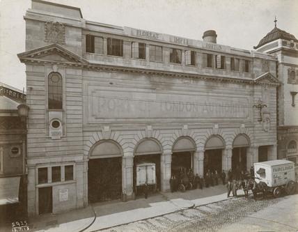 PLA coldstore, Smithfield: 1915