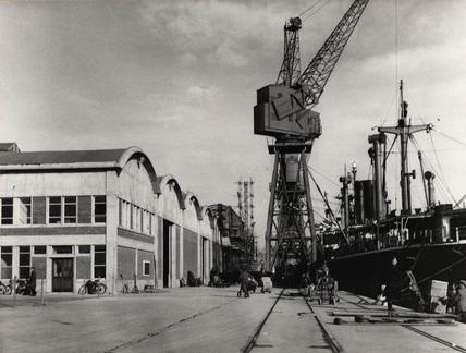 No 1 Berth, Tilbury: 1957