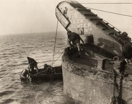 PLA salvage diver: 1934
