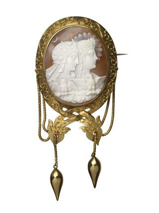 Cameo bracelet; 1860-1870