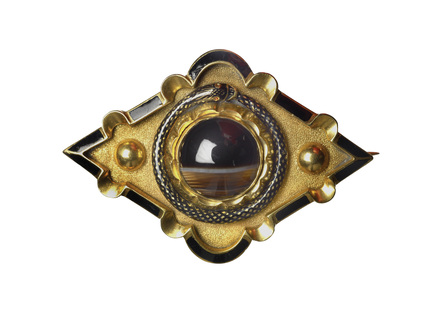 Memorial brooch: 1836