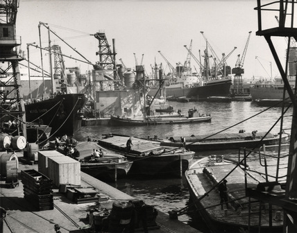 King George V Dock: 1965
