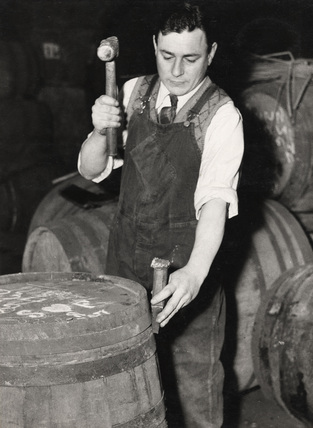 Cooper at work: 1954