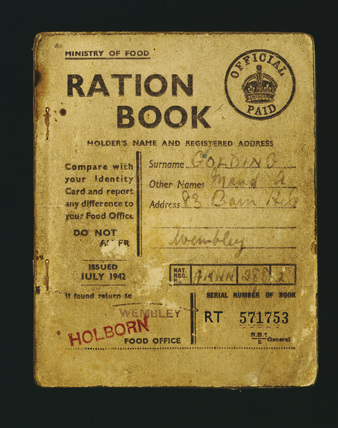 Food Ration Book; 1942