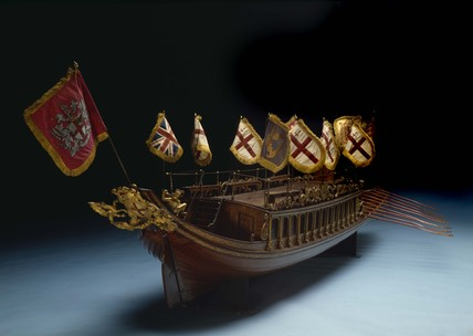 Model of the City Barge: 1807