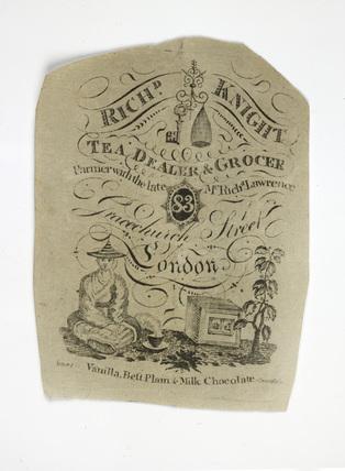 Trade card: c.1775