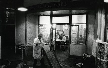 Piscatorial Cafe, Billingsgate Fish Market: c. 1980