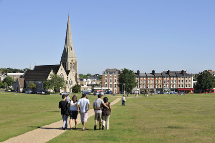 View across Blackheath; 2009