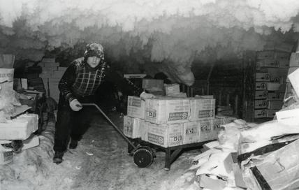 Billingsgate Fish Market cold store: c.1980