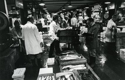 Billingsgate Fish Market: c.1980