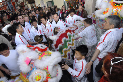 Chinese New Year Celebrations in China Town; 2007